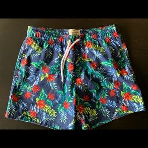 Men's size medium Abercrombie & Fitch swim trunks.